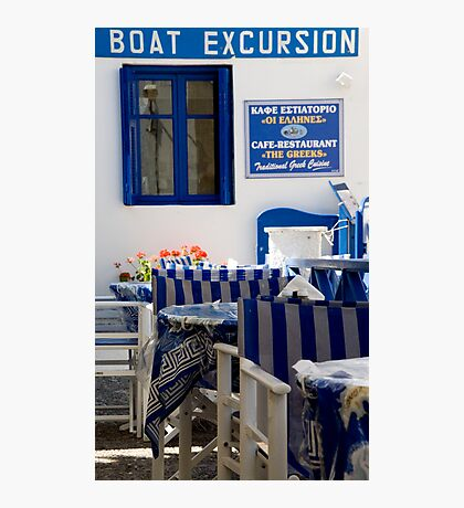 Boat Excursion Photographic Print