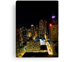 """Gotham City"" Canvas Print"