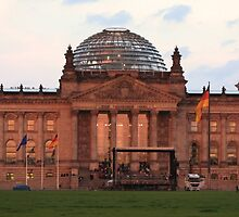 Reichstag building. by anfa77