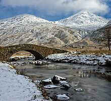 Argyll Winter Snow Scene by Mark White
