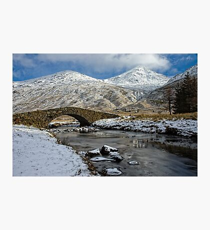 Argyll Winter Snow Scene Photographic Print