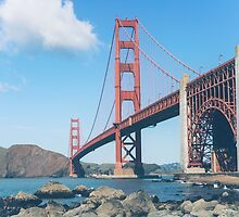 Golden Gate Bridge in San Francisco by Giorgio Fochesato