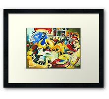 All That Jazz - New Orleans Inspiration Framed Print