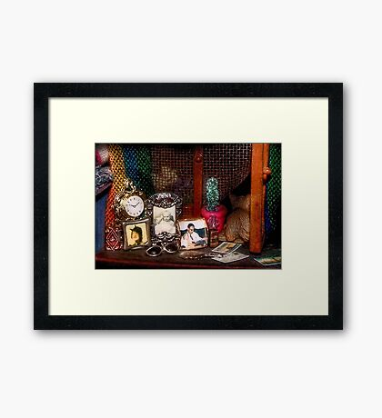 The Dresser (Scene from a Miniature) Framed Print