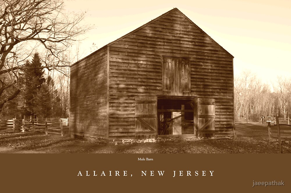 Mule Barn, Allaire, NJ by jaeepathak