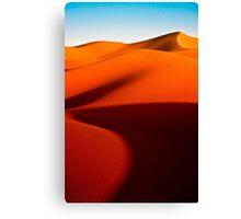 Sand Dunes in the Sahara Desert Canvas Print