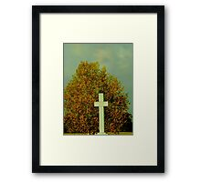 A Prayer of Thanksgiving Framed Print