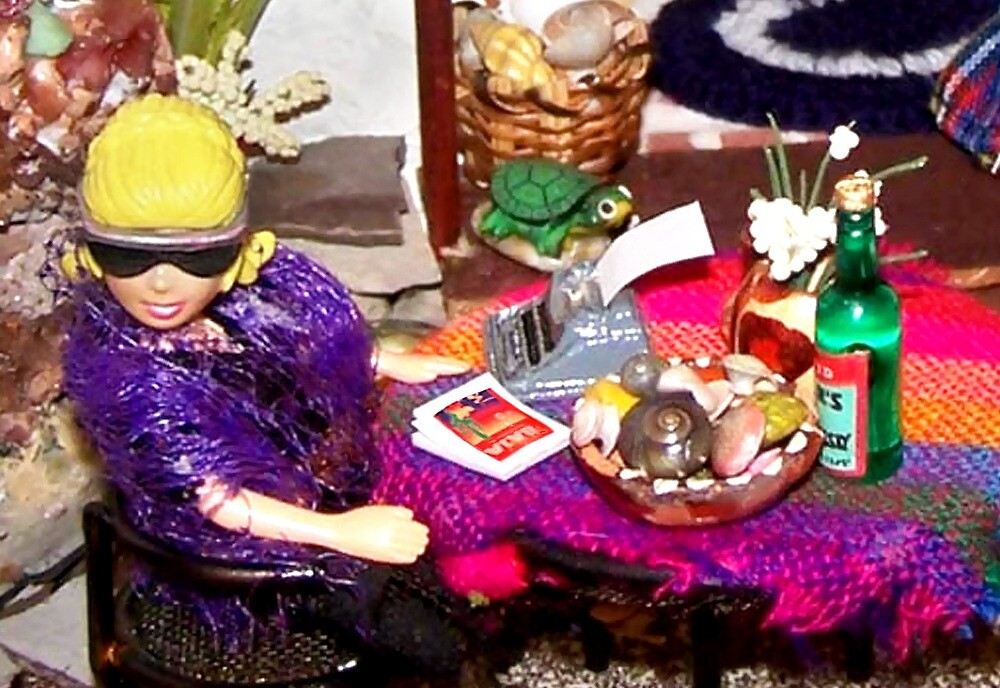 Home Office (Scene from a Miniature) by Nadya Johnson