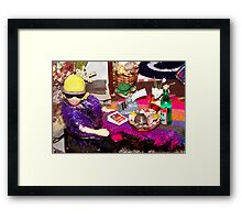 Home Office (Scene from a Miniature) Framed Print