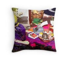 Home Office (Scene from a Miniature) Throw Pillow