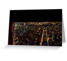 Empire State Buildning Greeting Card