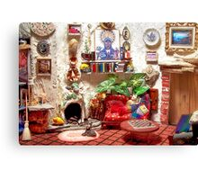 Mi Casa (Scene from a Miniature) Canvas Print