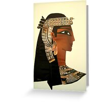 Glossy second hand Cleo Greeting Card
