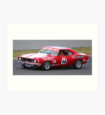 Big Chevy - GT racing at Bathurst Art Print