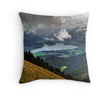 Wolfgangsee Throw Pillow
