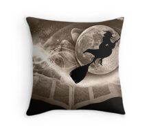 A Witch tale to remember... Throw Pillow