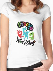 Psycho Workshop Women's Fitted Scoop T-Shirt