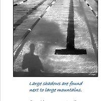 Large Shadows by Werner Langer