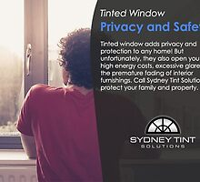 Tinted Window – Privacy and Safety!  by sydneytintcomau