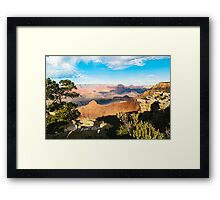Beautiful view of the Grand Canyon Framed Print