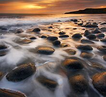 Dark Sky Sunrise, Northumberland by Robin Whalley