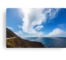Big Sur, Pacific Coast Highway Canvas Print