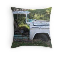 Permanent Parking Place Throw Pillow
