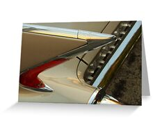 The art of the car: Cadillac 1960 El Dorado Biarritz Convertible Greeting Card