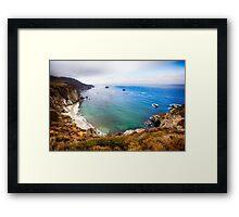 Big Sur, Pacific Coast in California Framed Print