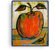 Red Apple Rest Canvas Print