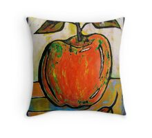 Red Apple Rest Throw Pillow
