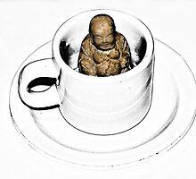 Buddha in a Teacup by DeerPhotoArts