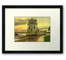 Torre de Belém.... Framed Print