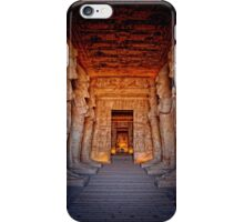 Abu Simbel Great Temple iPhone Case/Skin