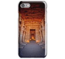 Abu Simbel Great Temple iPhone Case/Skin