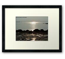Golden Touch Framed Print