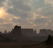 Desert Morning by Ostar-Digital