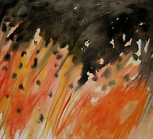 Bonfire Night II by Clare McCarthy