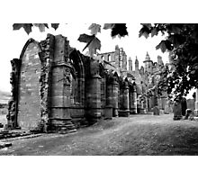 Melrose Abbey Photographic Print