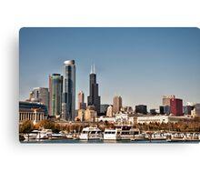 Chicago Sky Line Canvas Print