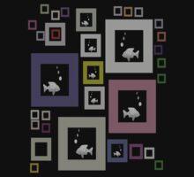 Fishtank T-Shirt by simpsonvisuals