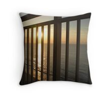 Balcony Sunrise Throw Pillow