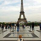 Eiffel Tower by longaray2