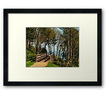 Morning Walk ~ Lyme Regis Framed Print
