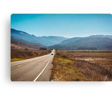 Pacific Coast Highway in California Canvas Print