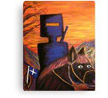 Abstract (Ned Kelly's Fiery Sunset)  EJCairns Australia  Original  Canvas Print