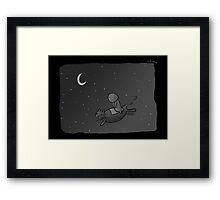 Voyage Across The Night Sky Framed Print