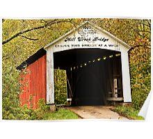 Mill Creek Bridge Poster