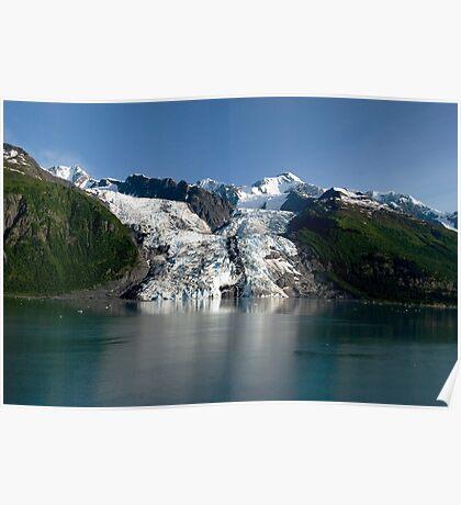 College Fiord Glacier Poster