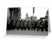And All the Kings Men.... Greeting Card